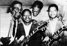 Howlin' Wolf and his band