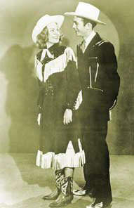 Hank and his first wife Audrey