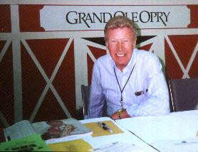Ernie at the Opry Stand