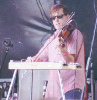 Don Herron playing fiddle