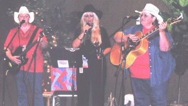 Sisters of the Silver Sage performing at the AWA convention