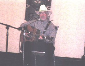 AWA member and western singer/songwriter Fletcher Jowers