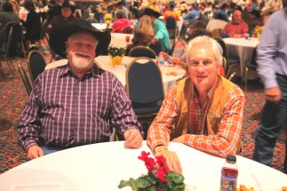 Jim Anderson with Graham at the WRCA